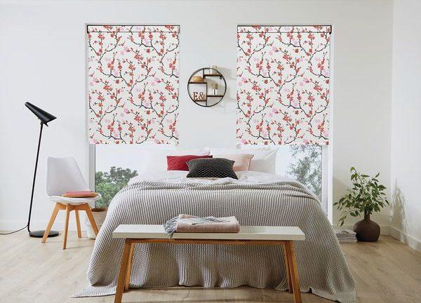 LL 2019 Roller Cherry blossom Geisha 70mm Black Cass Bed MAIL e1596014531400